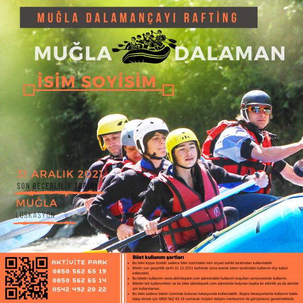 mugla-rafting