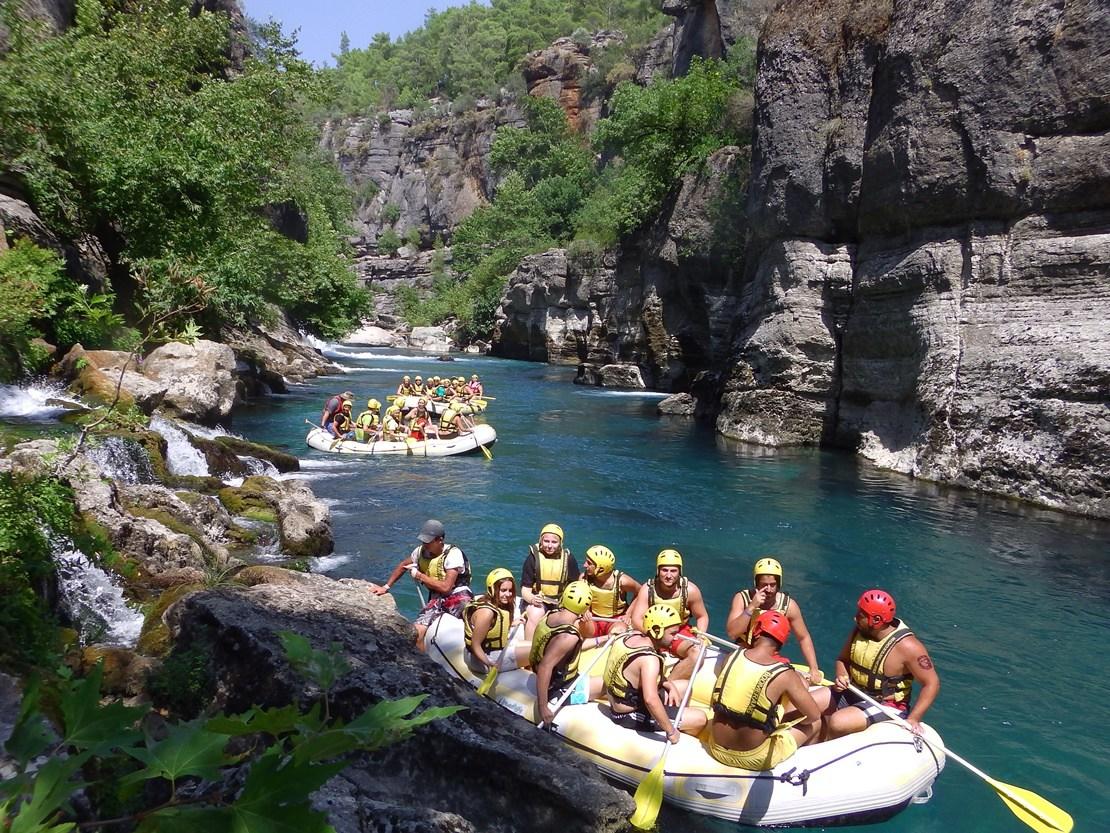 Antalya Köprülü Kanyon Rafting
