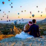 Balon İle Uçarken Evlilik Teklifi Etmek