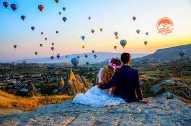 Balon İle Uçarken Evlilik Teklifi