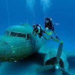 ABD Savaş Uçağı Batığı Dalışı